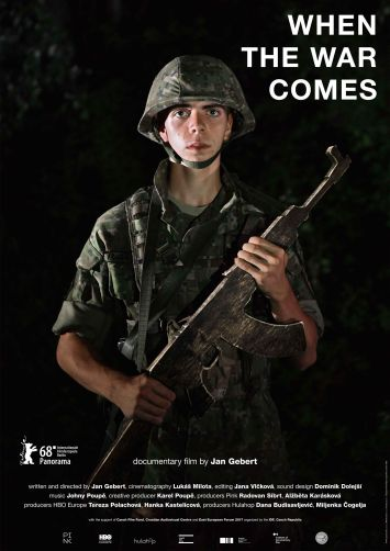 WHEN THE WAR COMES - POSTER